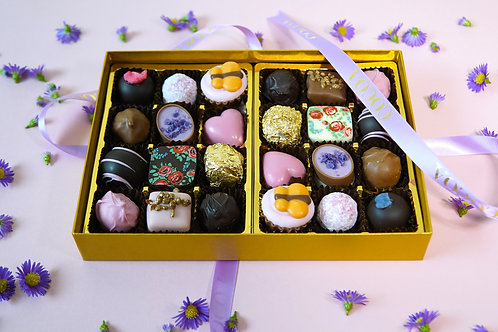 24 Chocolate Mothers Day Postal Selection Box