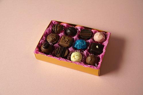 12 Chocolate Postal Selection Box