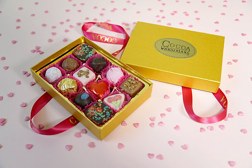 12 Love filled Chocolate Postal Selection Box