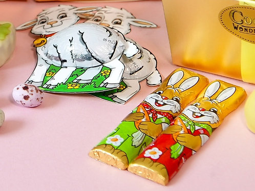 Milk chocolate bunnies & Lambs 130g