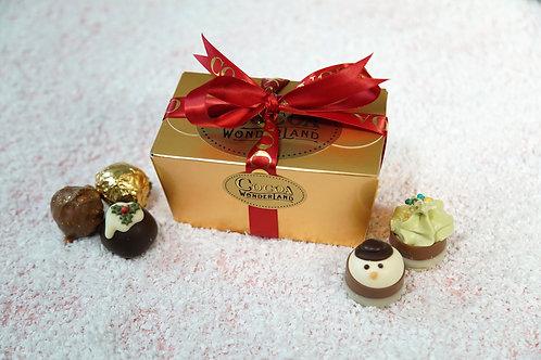 6 Christmas Chocolate Ballotin Box