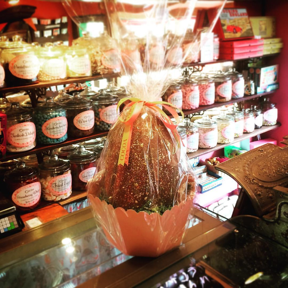 1.5kg Handmade Egg filled with truffles £75