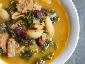 My High Vibe Kale Soup (Inspired by Portuguese Kale Soup)