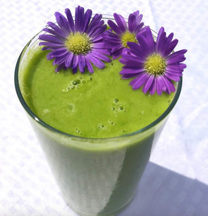 Green Smoothie with Flower.png