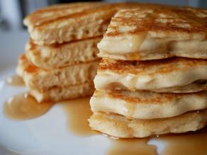 The Easiest Fluffy Vegan Pancakes