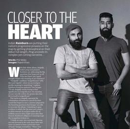 Featured in PROG magazine with Rainburn
