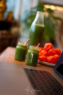 Green juice  - Jus vert detoxifiant et energisant