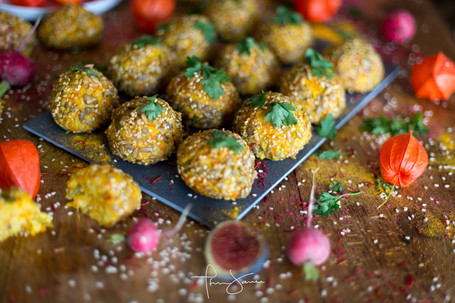 Boulettes vegan - Paris