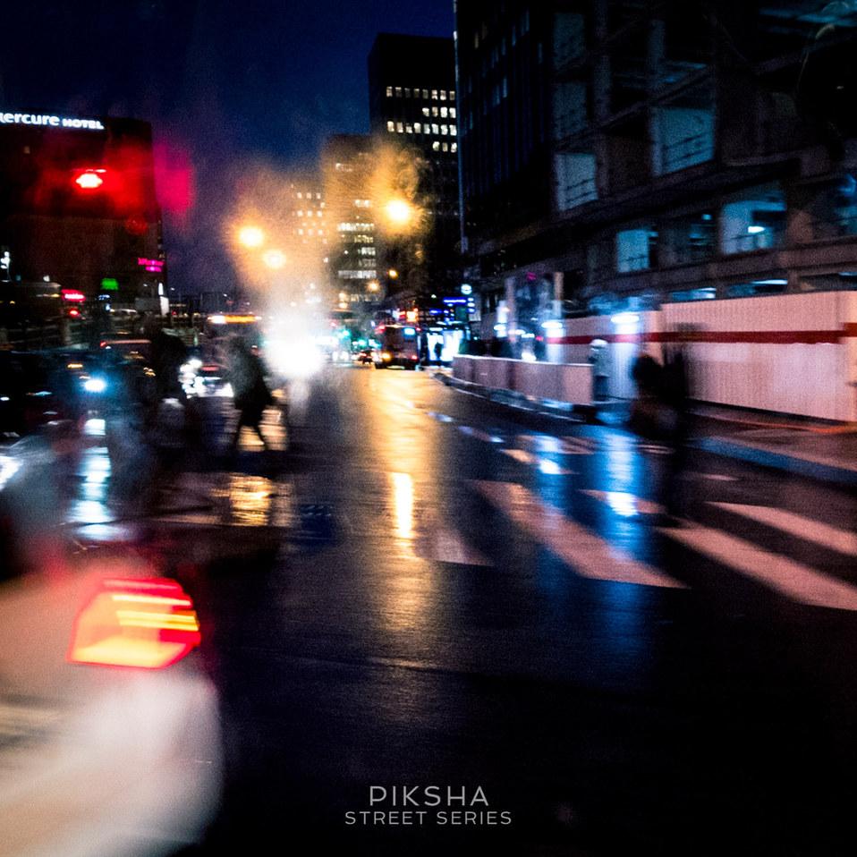 Paris October lights
