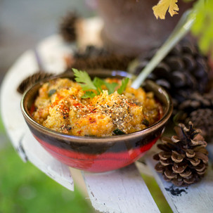 Saveurs d'Automne réconfort- Ecrasé de pommes de terre et petits légumes Recette @alice Vanhoye Naturopathe
