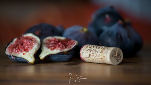 Figs and red wine - Figues et vin rouge