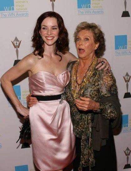 Annie Wersching & Honoree Cloris Leachman