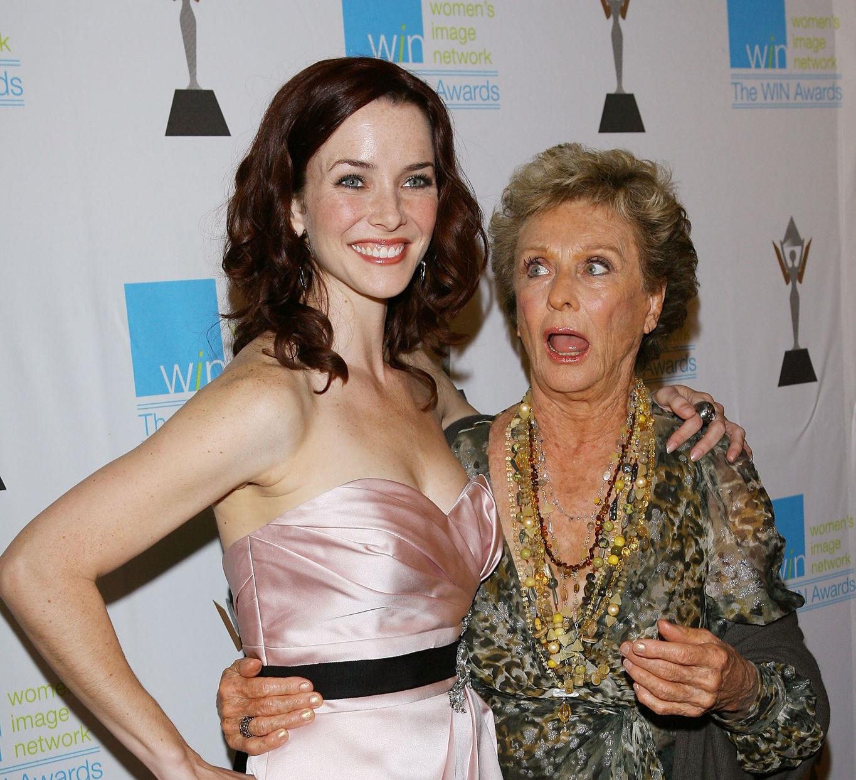 Annie Wersching & Cloris Leachman