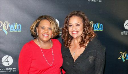 Chandra Wilson w/ Debbie Allen