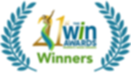 WIN 21 WINNERS logo