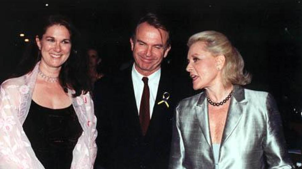 Phyllis Stuart, Sam Neill, Lauren Bacall