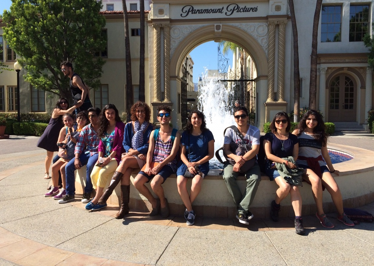 Visit to Paramount Studios