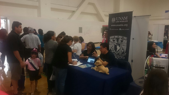 UNAM-LA participates in Education Fair at Cal State Northridge