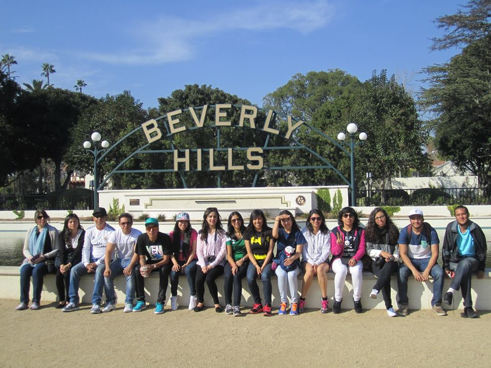 Visit to Beverly Hills