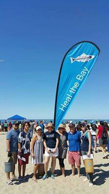 Beach Clean Up in Santa Monica to Commemorate Earth Month 2016