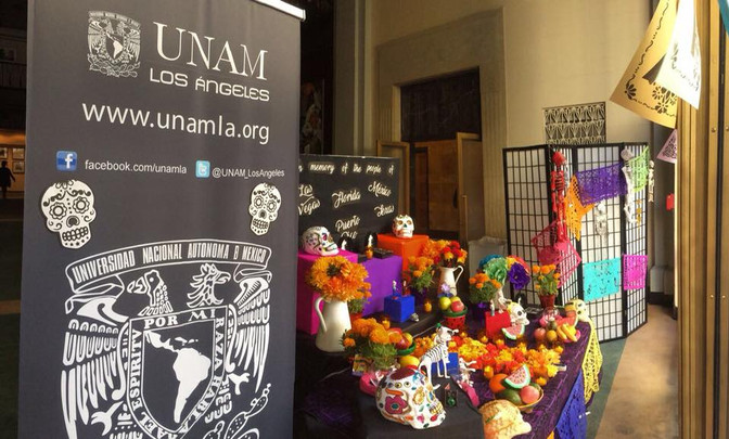 La UNAM-LA celebra el Día de muertos con una ofrenda y dos talleres en Mi Casa es Puebla