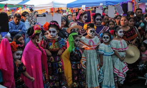 Día de muertos en Mi Casa es Puebla. Una tradición más viva que nunca.