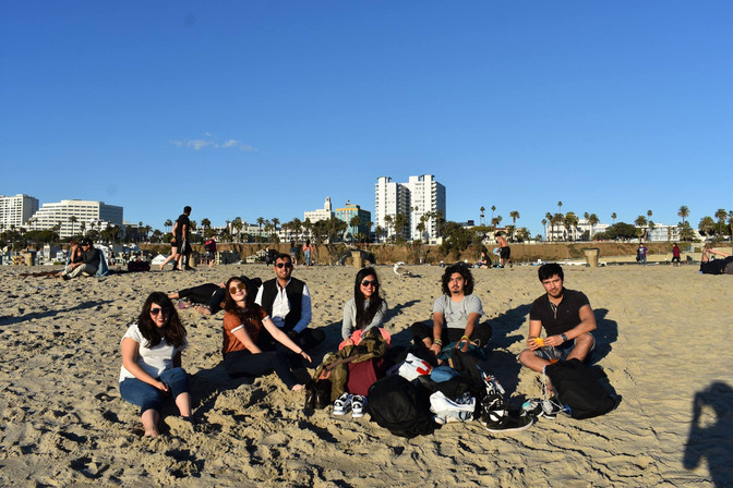 First Weeks of the TOEFL Group in California