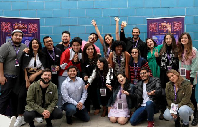 Talento mexicano brilla en el festival de cine Hola México 2019 en Los Ángeles