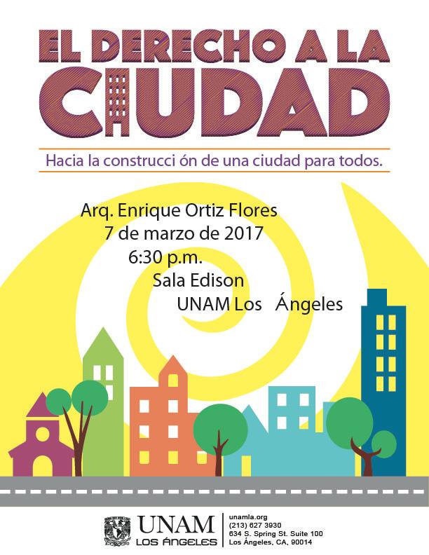 Enrique Ortiz Flores y su propuesta por una ciudad para todos