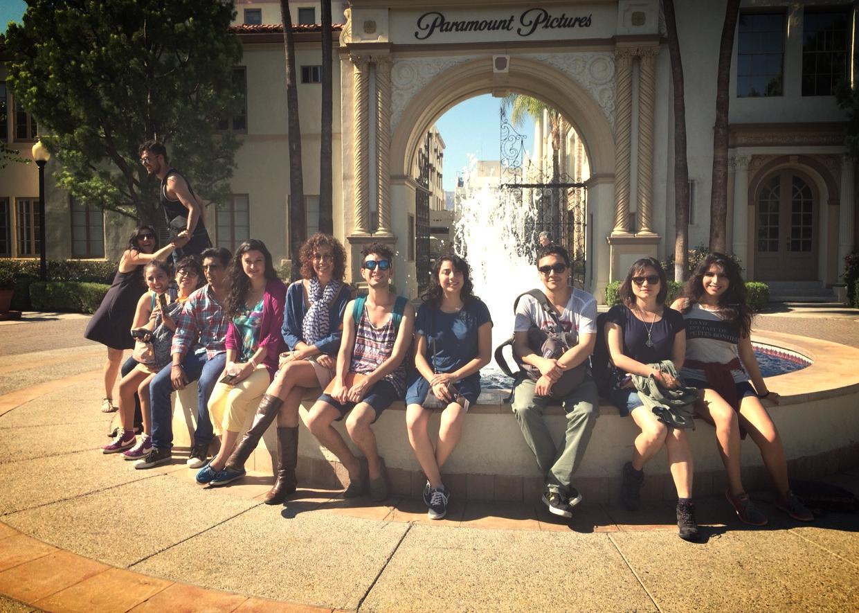 Visita a Paramount Studios