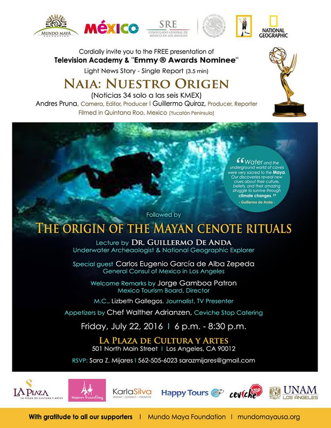 """""""Naia, Our Origin"""": The Archaeological Wealth of the Yucatan Peninsula Has An Emmy Nominat"""