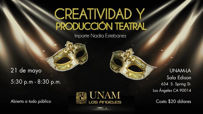 Taller de creatividad y producción teatral