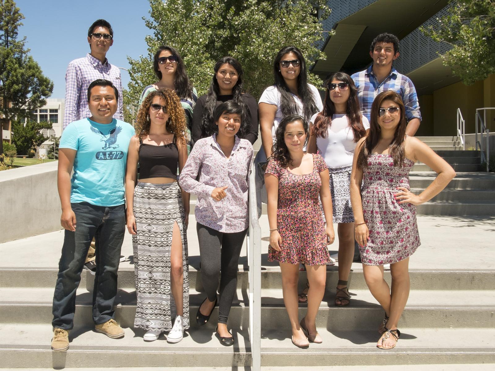 Alumnos 2014 en CSUN