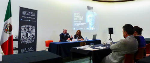 "University Forum ""Mexico: Diversity and Challenges"" Begins with the Lecture ""Evolution of the O"