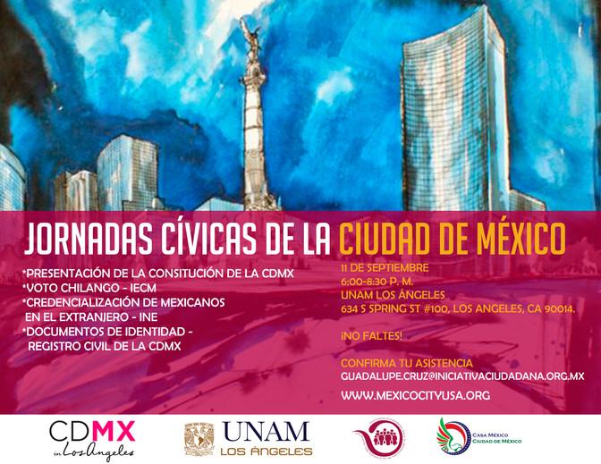 JORNADAS CÍVICAS DE LA CIUDAD DE MÉXICO EN UNAM-LA