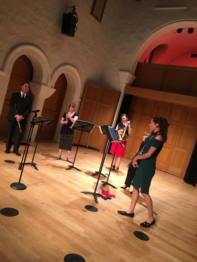 Quinteto de Viento rinde homenaje musical a México en Los Ángeles