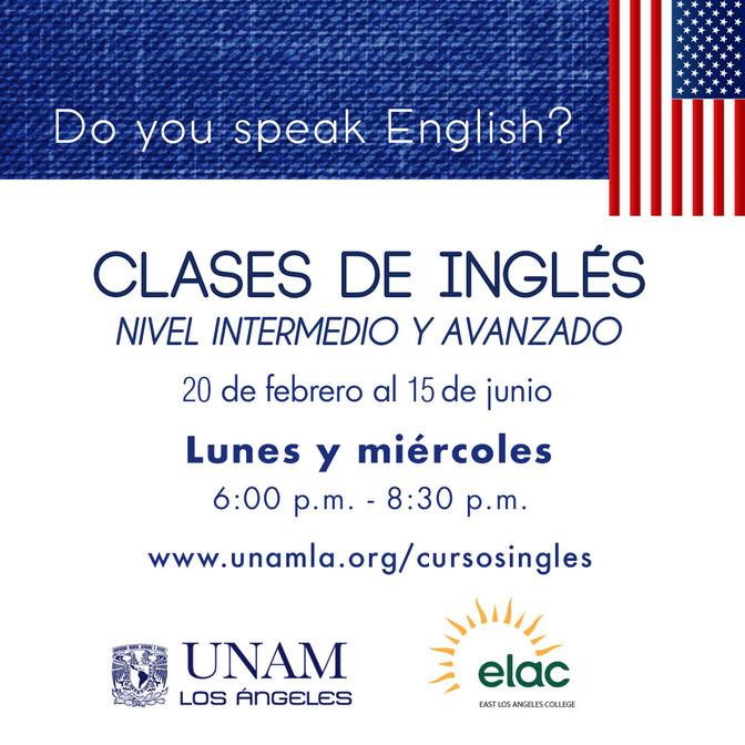 La UNAM-LA imparte clases de inglés gratuitas para la comunidad angelina