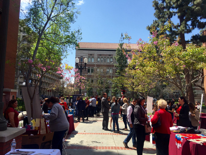 No más! Immigration and Education Congress at USC.
