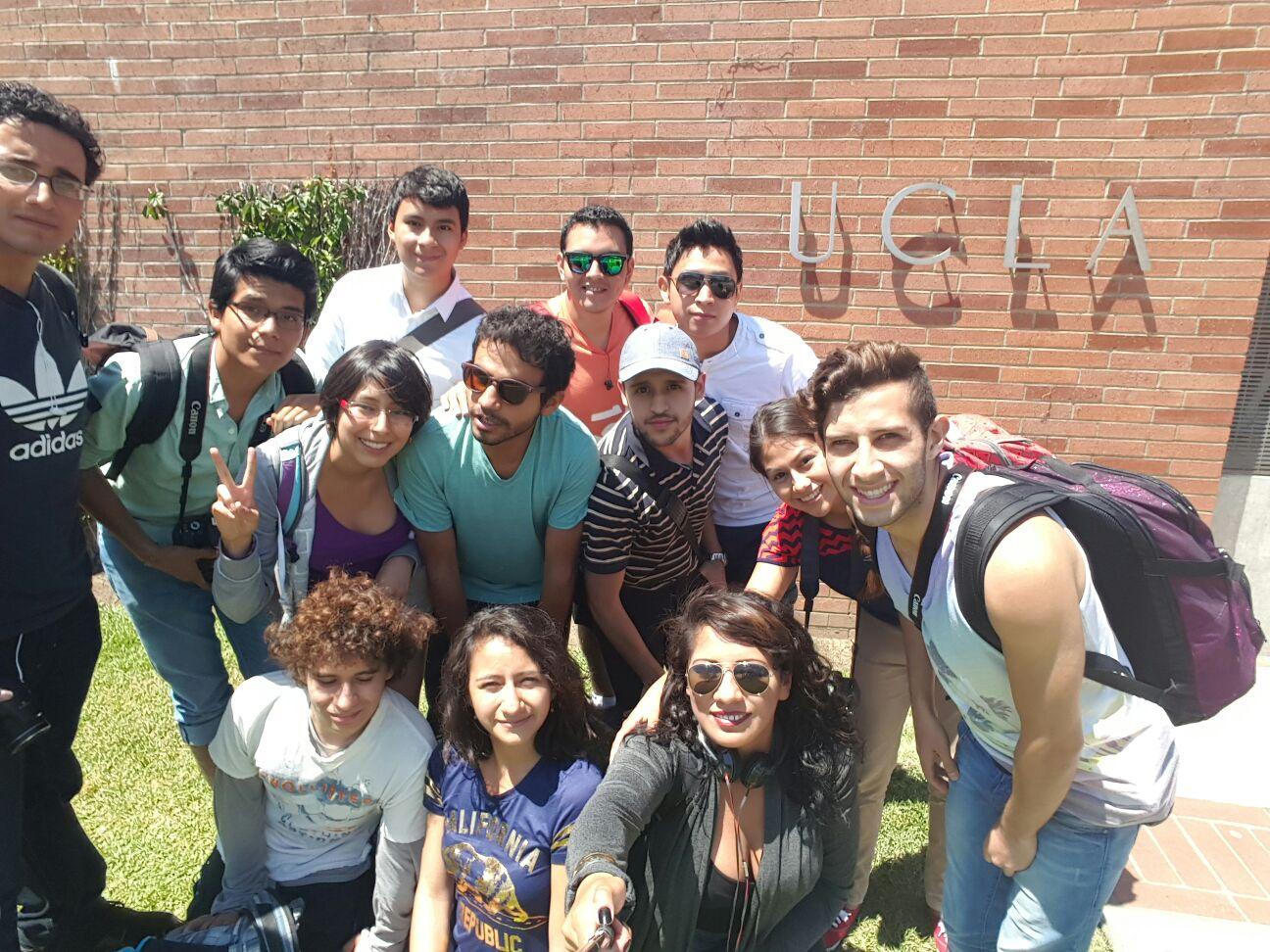 Visita a UCLA