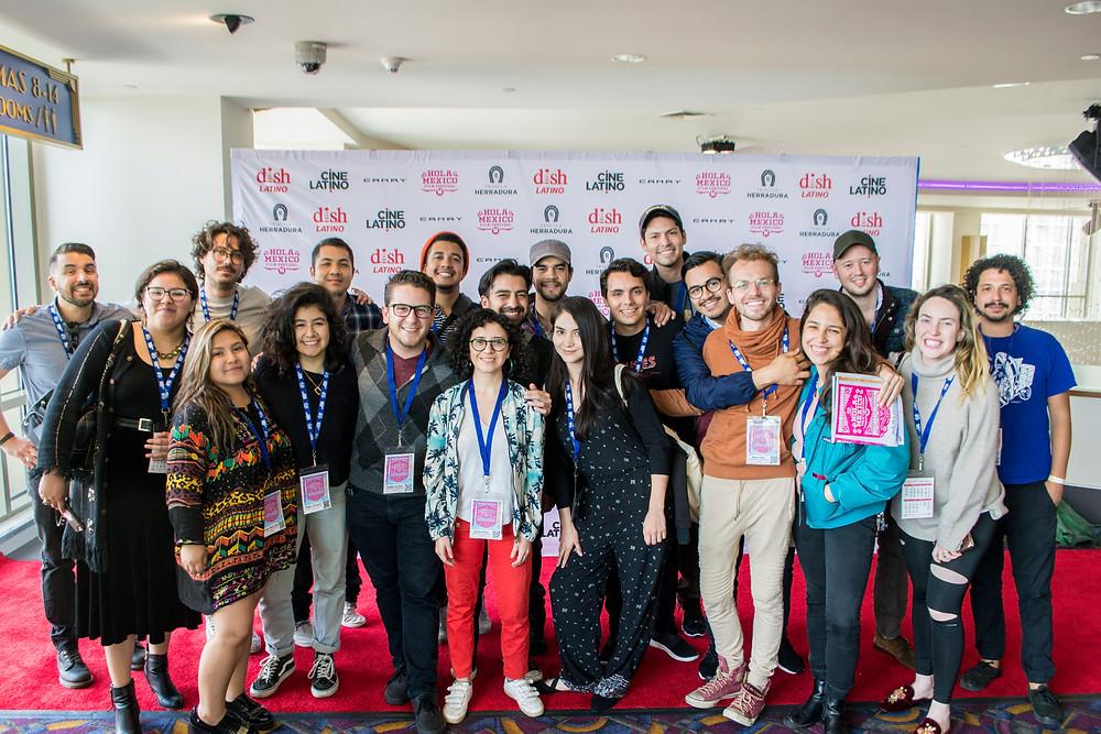 Participantes de Tomorrow's Filmmakers Today 2018