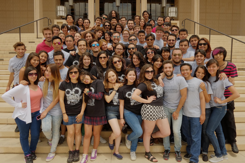 Alumnos de la UNAM en CSUN