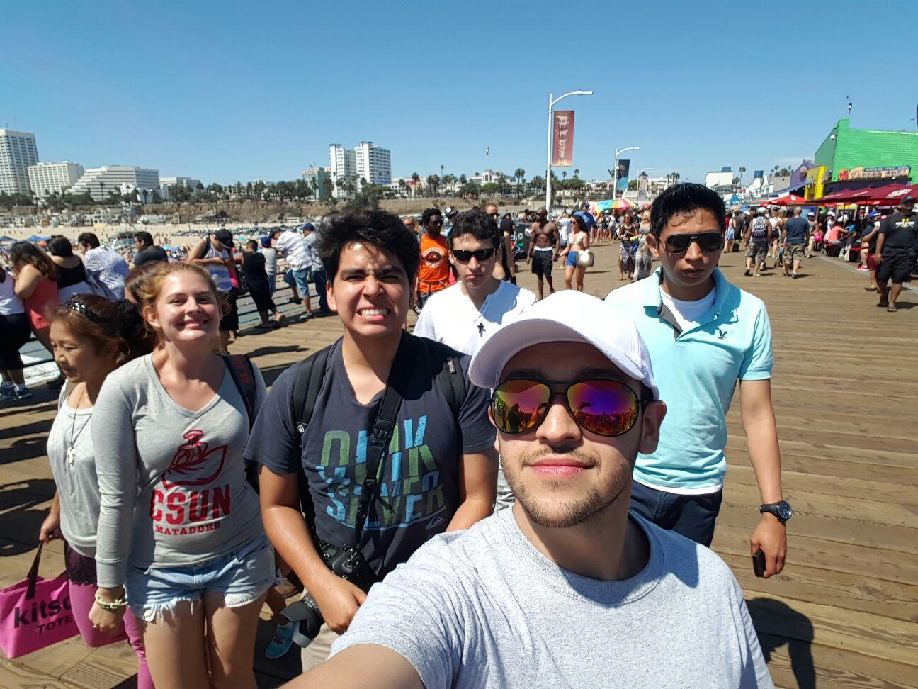 Visit to Santa Mónica