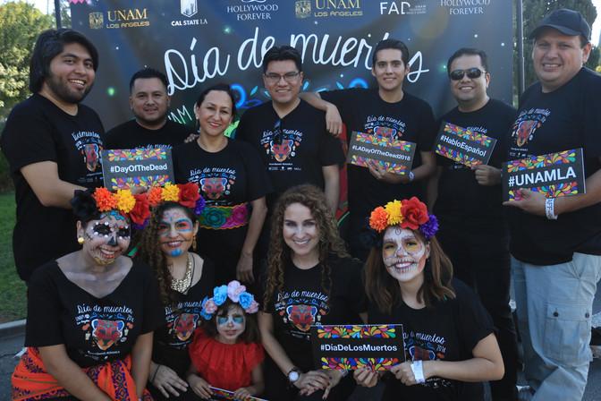 La UNAM presente en la celebración más grande del Día de Muertos del Sur de California