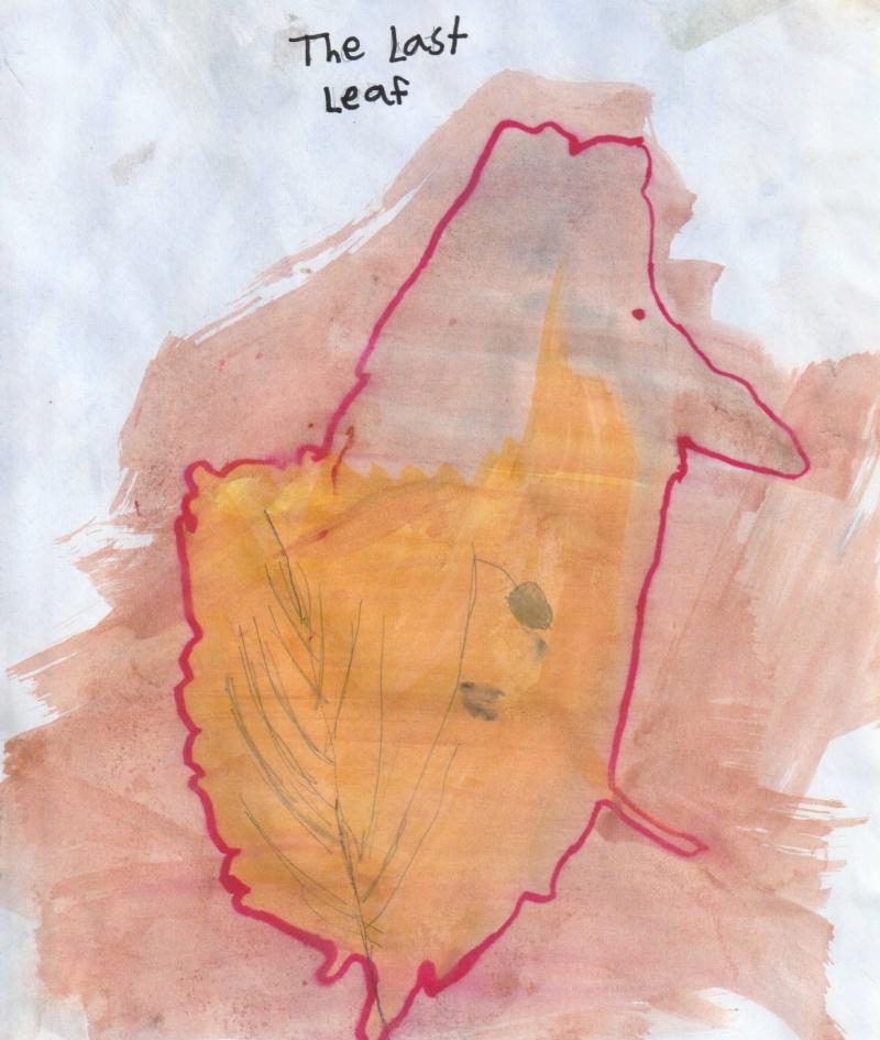 Jaime, 8yo, Singapore  Dream self  Title: The last leaf