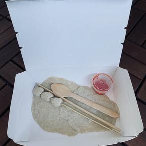 [Khoo Ling In], Vegetarian Bento!, clay dough, varied