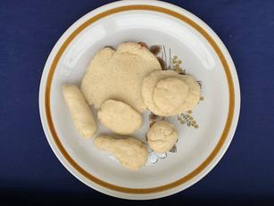 [Mdm Veronica Koh] Nasi Lemak, flour, salt, oil and warm water, dimensions varied, Aug 2020