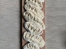 [Mr Yan Hoeng Cheong] Yimmy Dumplings, Flour, salt and water, 40cm x 10cm
