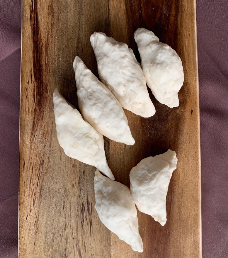 [Mdm Wan] Whatever it is, it is, Flour, Salt and Water, Varied Dimensions