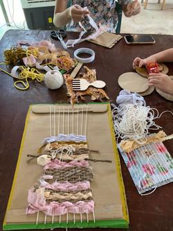 Sustainable Weaving Workshop