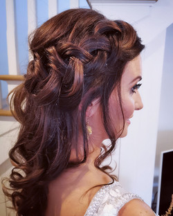 boho wedding hairstyle